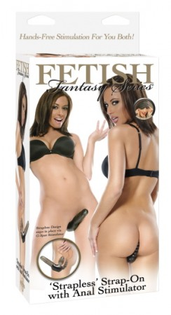 FF Strapless-Strap-On with Anal Stimulator