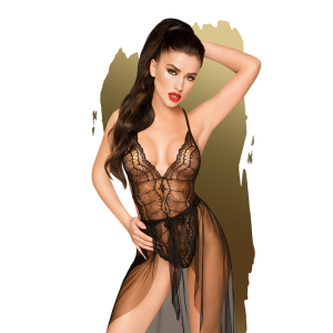 Penthouse - Best Foreplay - Lace body with see through Dress