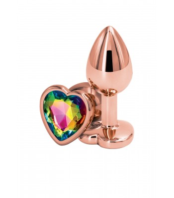 Rear Assets Rose Gold Heart Small