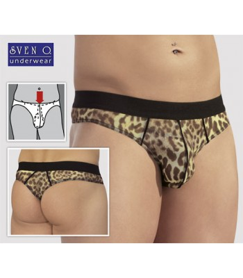 Men's Tanga-Leopard