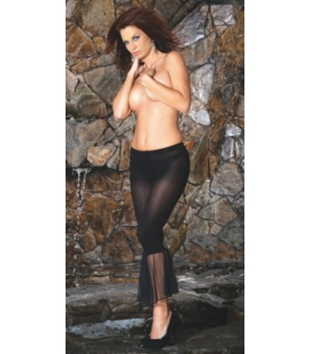 Opaque Tights With Flair Bottom