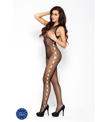 Fishnet Open Side Bodystocking-BS014