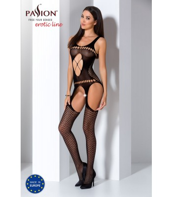 Fishnet Lace Bodystocking-BS057