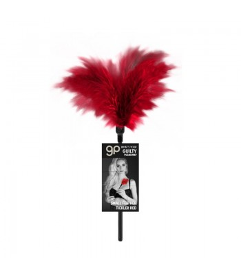 GP Small Feather Tickler Red