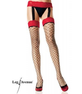 Lycra Suspender Fence Garter Belt Stockings