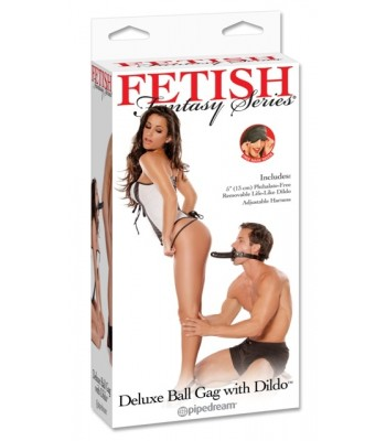 FF Deluxe Ball Gag With Dildo