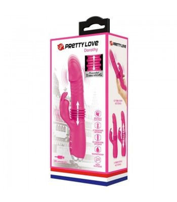 Pretty Love Dorothy Pink Rechargeable Rabbit Vibrator