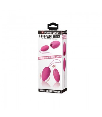 Pretty Love Hyper Egg-Wireless Rechargeable Silicone Bullet