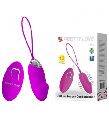 Pretty Love Julia-Wireless Rechargeable Silicone Bullet