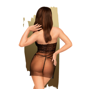 Penthouse - All Yours - Sexy mesh dress with thong