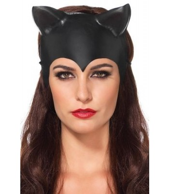 Leg Avenue Women's Cat Ear Mask Costume Accessory,Black-O/S