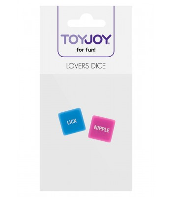 Lovers Dice Pink / Blue