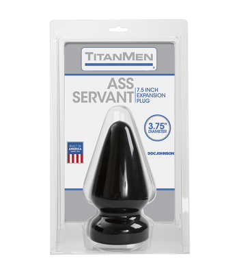 Doc Johnson TitanMen Ass Servant, 3.75 Inch