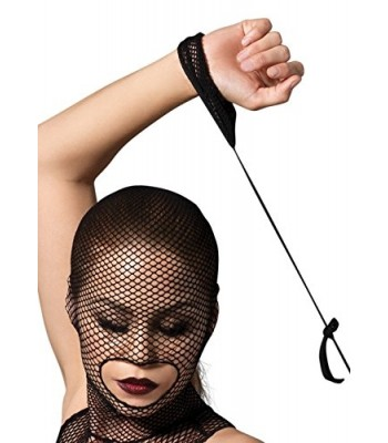 Kink 2 Pc. Fishnet Masked Bodystocking - O/S