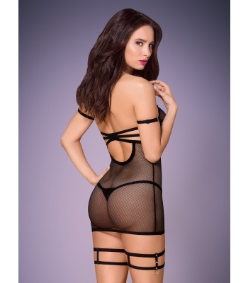 858-CHE-1 Chemise & Thong