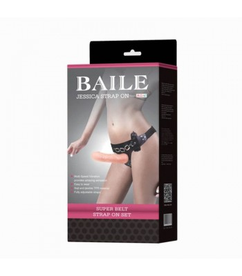 Baile Jessica Vibrating Strap-on