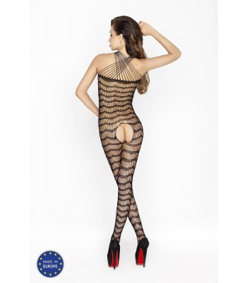 Fishnet Lace Bodystocking-BS022