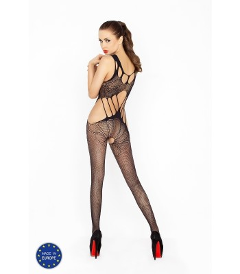 Lace Bodystocking W Straps-BS030