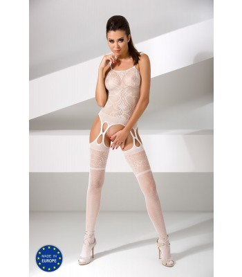 Fishnet Lace Bodystocking-BS050