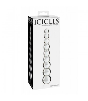 Icicles No. 2-HAND BLOWN GLASS MASSAGER