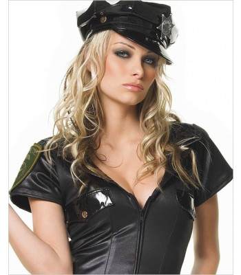 POLICE ZIPPER FRONT COSTUME