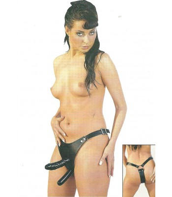 Dildostring-Thong with 2 Dildos