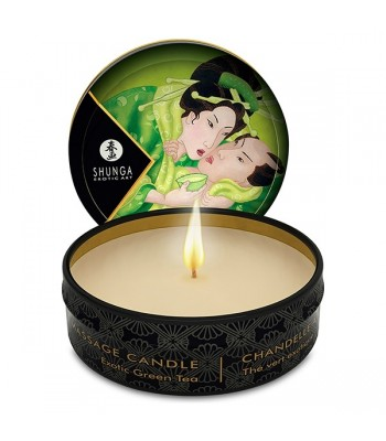 Shunga - Mini Massage Candle - Exotic Green Tea 30 ml