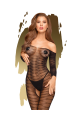Penthouse - Dreamy Diva - Sheer catsuit with open crotch