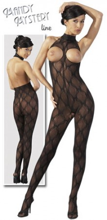 CUPLESS LACE CATSUIT