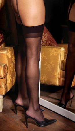 Sheer Tigh Hi Stockings