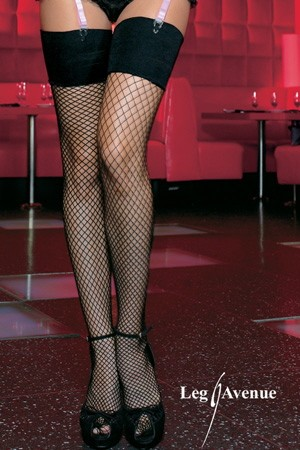 INDUSTRIAL NET STOCKINGS WITH ELASTIC TOP