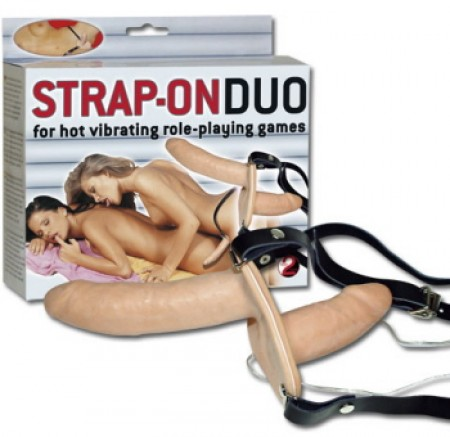 Strap-on Duo Vibration
