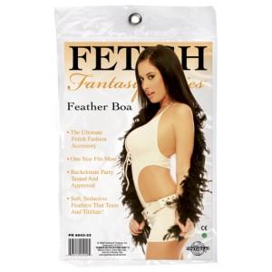 FF Feather Boa - Black
