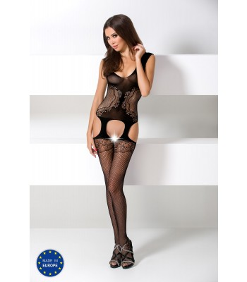 Fishnet Lace Bodystocking-BS046