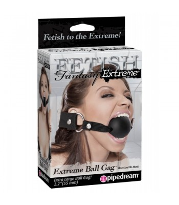 Fetish Fantasy Extreme Extreme Ball Gag Black