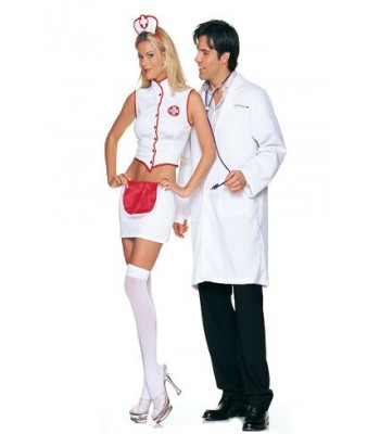 3 Pc Naughty Nurse Costume