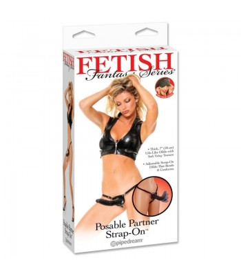 FF Posable Partner Strap On