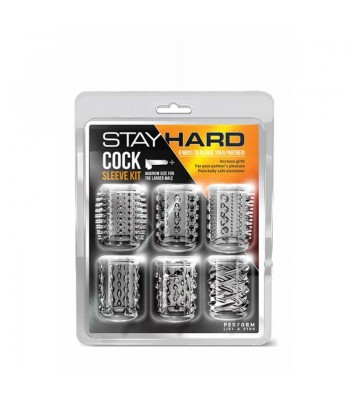 Stay Hard -Cock Sleeve Kit Clear