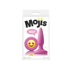 Moji's Ily Pink Butt Plug