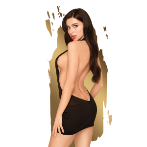 Penthouse - Heart Rob - Mini dress with open back