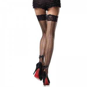 Stay Up Backseam Thigh Highs - BLACK - O/S