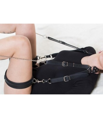 Leather Bondage Set