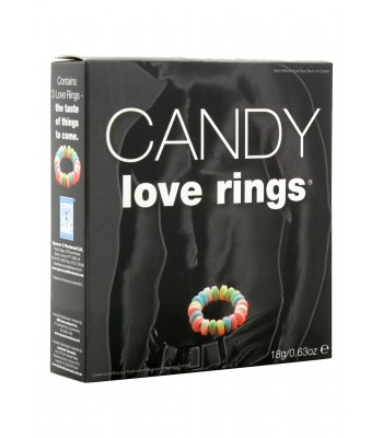 Candy Love Rings-3 pcs
