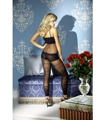 Faux Short Set Footless Bodystocking