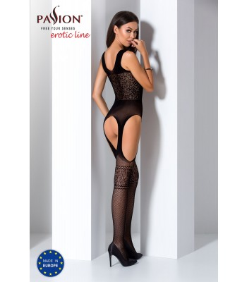 Fishnet Lace Bodystocking-BS061