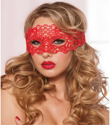 Hollow Lace Mask