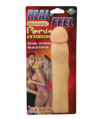 Real Feel Penis Extension-Flesh