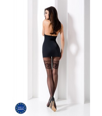 Tights-TI 026-Black
